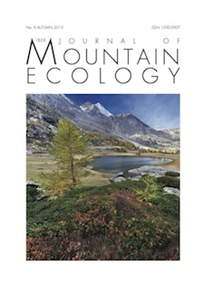 Anteprima pubblicazione: Journal of mountain ecology